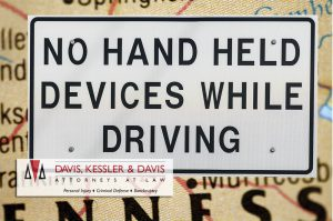 No Hand Held Devices While Driving
